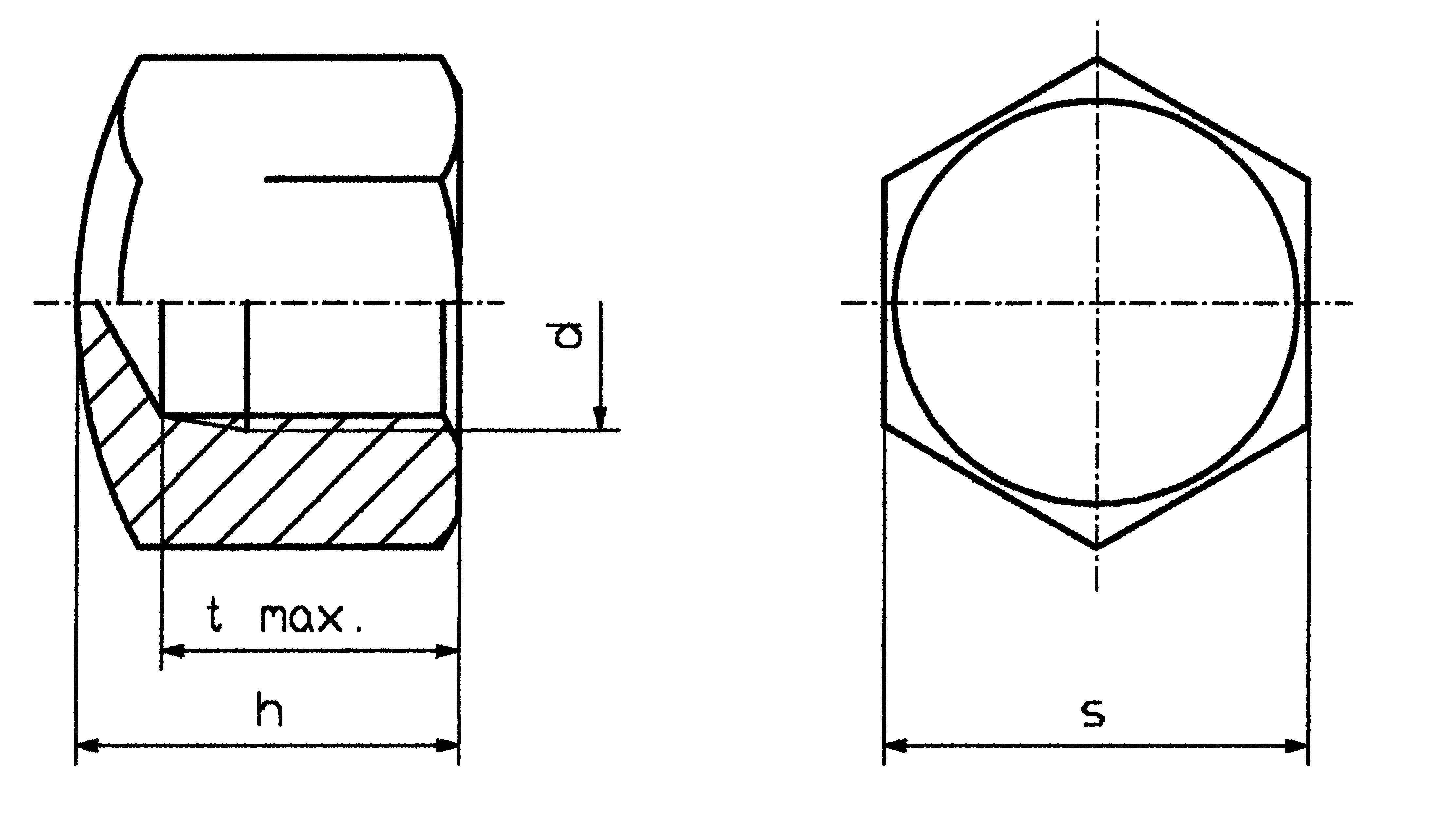 Klobúková matica uzavretá TOOLCRAFT M4 D917-STAHL:A2K 194783, M4, oceľ, 10 ks
