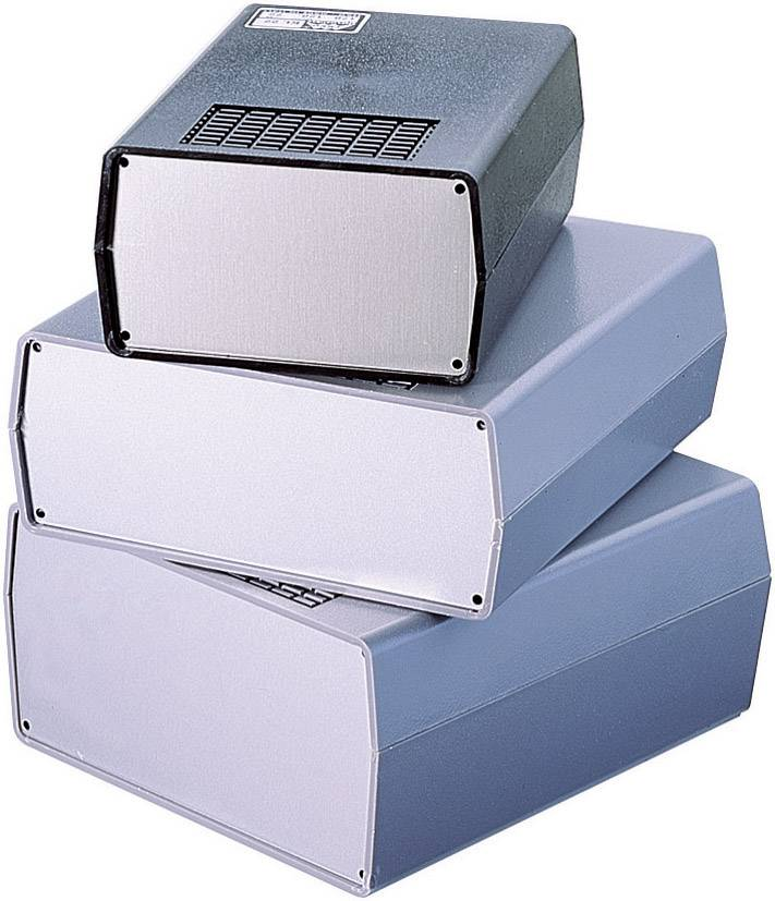 Malý plastové pouzdro TEKO, (A x B x C x D x E) 170 x 177 x 198 x 192 x 70 mm, šedá (AUS 22)