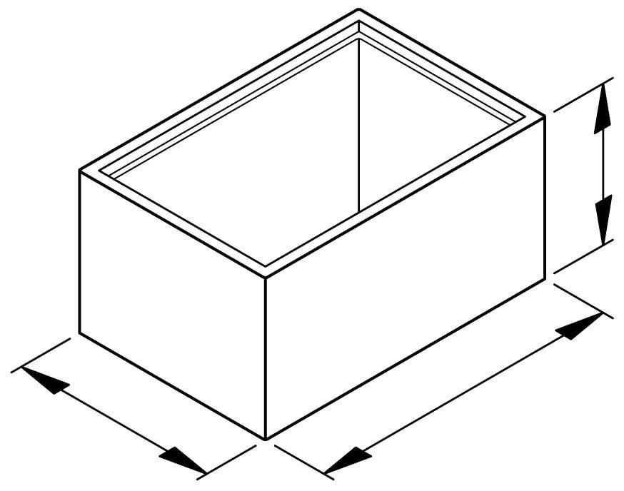 Prázdne puzdro na moduly