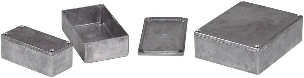 Tlakem lité hliníkové pouzdro Eddystone Hammond Electronics 27969PSLA, 92 x 38 x 31