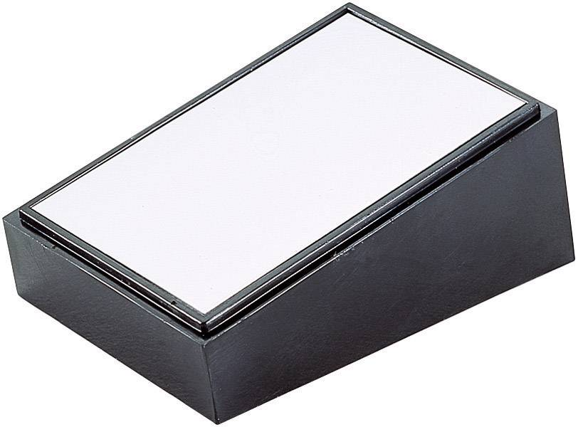 Skrinka na ovládací pult TEKO PULT 104, 213 x 130 x 77 mm, umelá hmota, hliník, čierna, strieborná, 1 ks