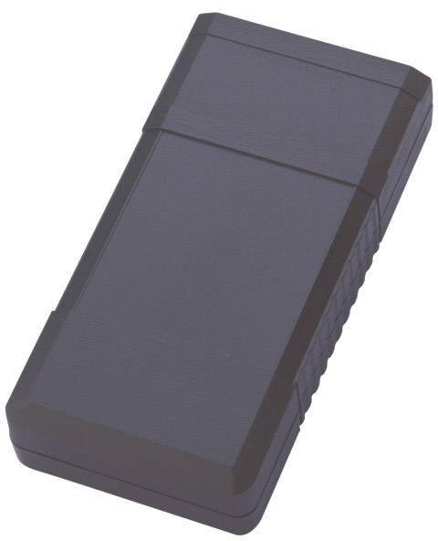 Univerzální pouzdro ABS Bopla, BOS 502 SW, 120 x 60 x 25 mm, černá (BOS 502)