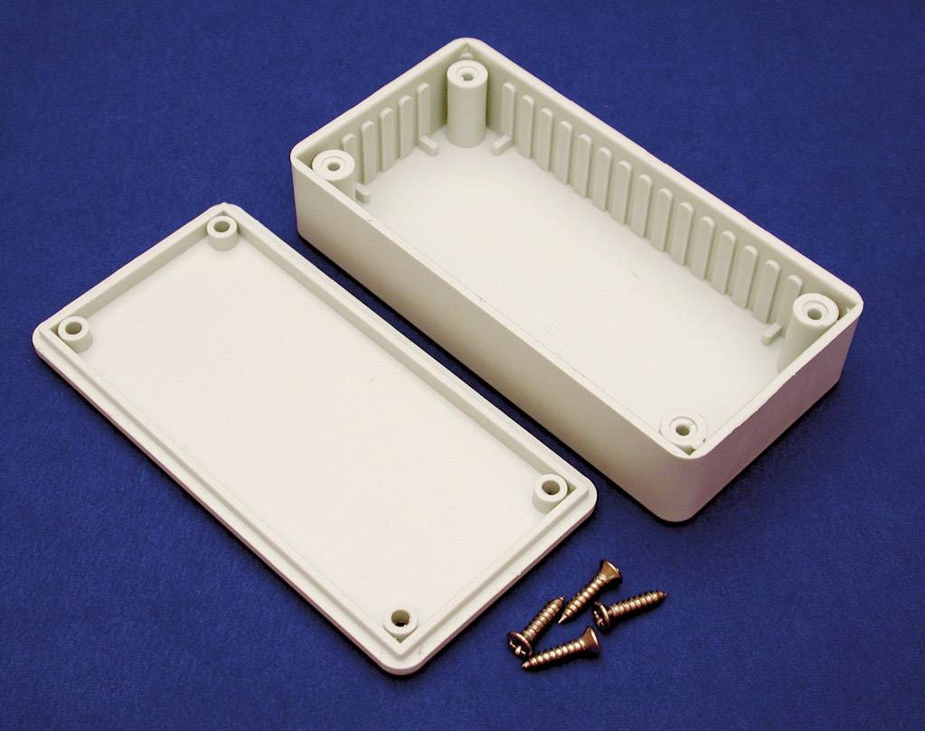 Pouzdro Hammond Electronics, (d x š x v) 120 x 65 x 40 mm, šedá (BOXE)