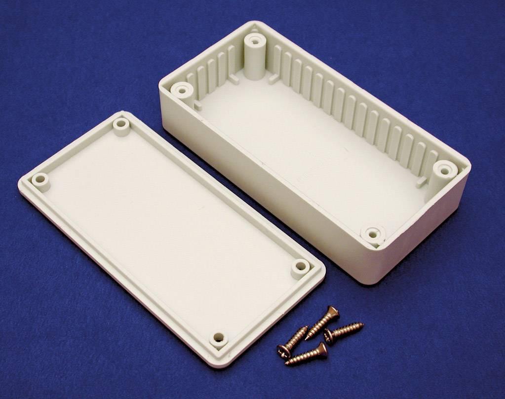 Univerzálne púzdro Hammond Electronics BOXE BOXE, 191 x 110 x 61 , ABS, svetlo sivá (RAL 7035), 1 ks