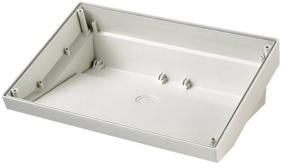 Pultové pouzdro ABS OKW, (d x š x v) 180 x 264 x 86 mm, šedá (SL)