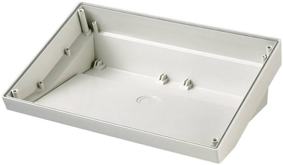 Skrinka na ovládací pult OKW DATEC SL, 180 x 264 x 86 mm, ABS, sivobiela (RAL 9002), 1 ks