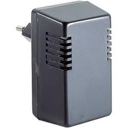 Pouzdro zástrčky TRU COMPONENTS TC-TYP I SG 1 SW203, ABS, 37 x 43 x 73.5 , černá, 1 ks
