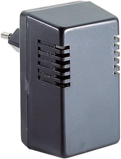 Puzdro na zástrčku Strapubox TYP I, ABS, 37 x 43 x 73.5 , čierna, 1 ks