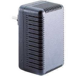 Pouzdro zástrčky TRU COMPONENTS TC-563 SG 321 SW203, ABS, 111 x 68 x 51.3 , černá, 1 ks