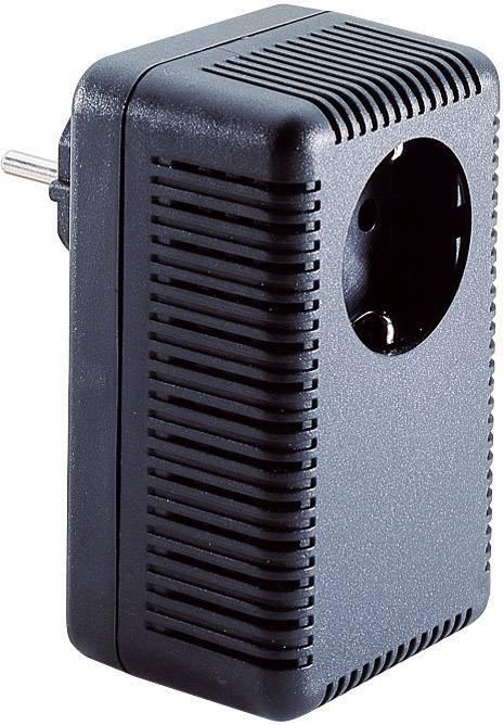 Pouzdro zástrčky TRU COMPONENTS TC-SG 322B SW203, ABS, 52 x 67 x 112 , černá, 1 ks