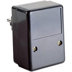 Puzdro na zástrčku TRU COMPONENTS TC-SG 2 SW203, ABS, 54 x 74 x 43 , čierna, 1 ks