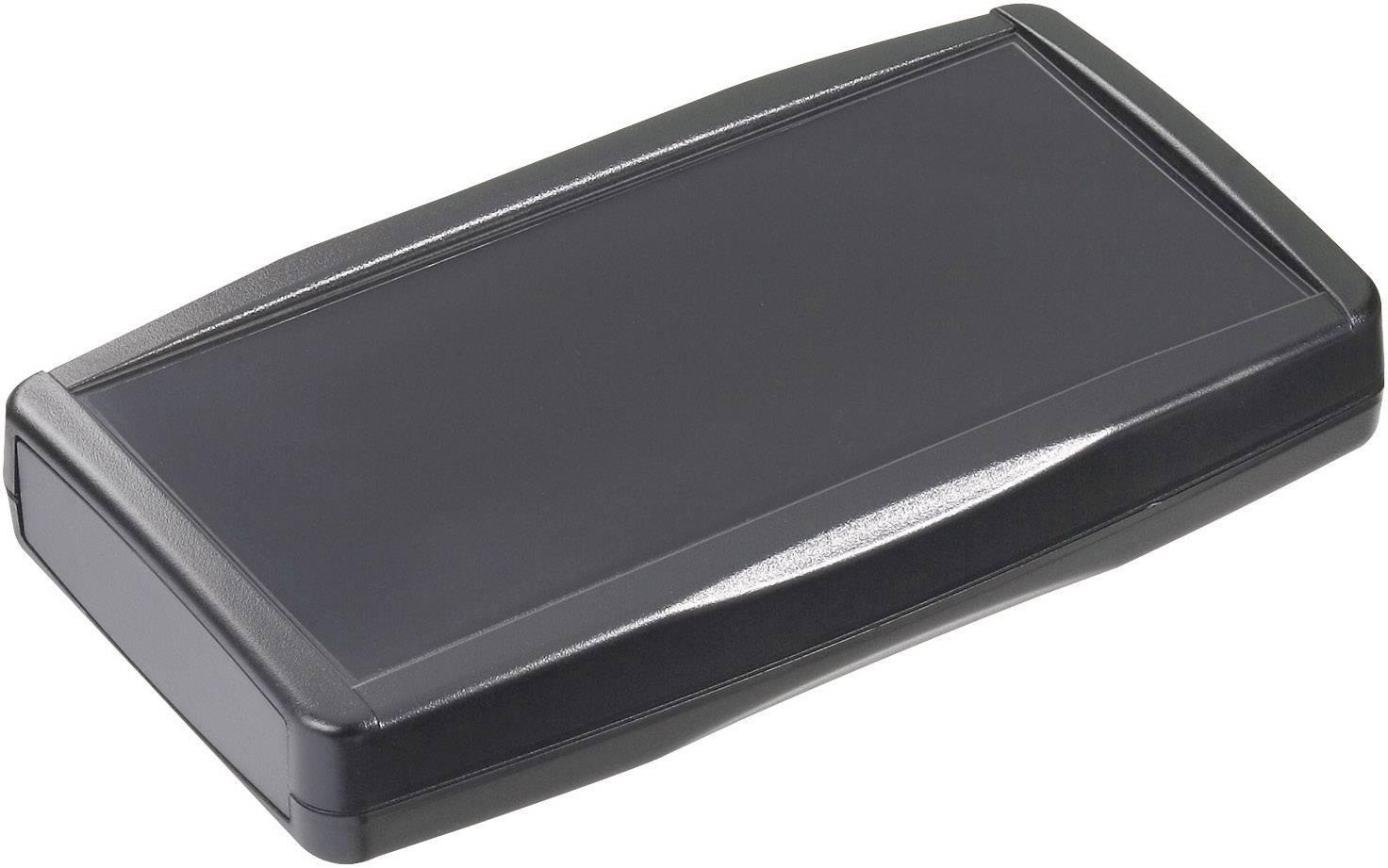 Plastová krabička Pactec XPL, 29 x 178 x 102 mm, ABS, čierna, 1 ks
