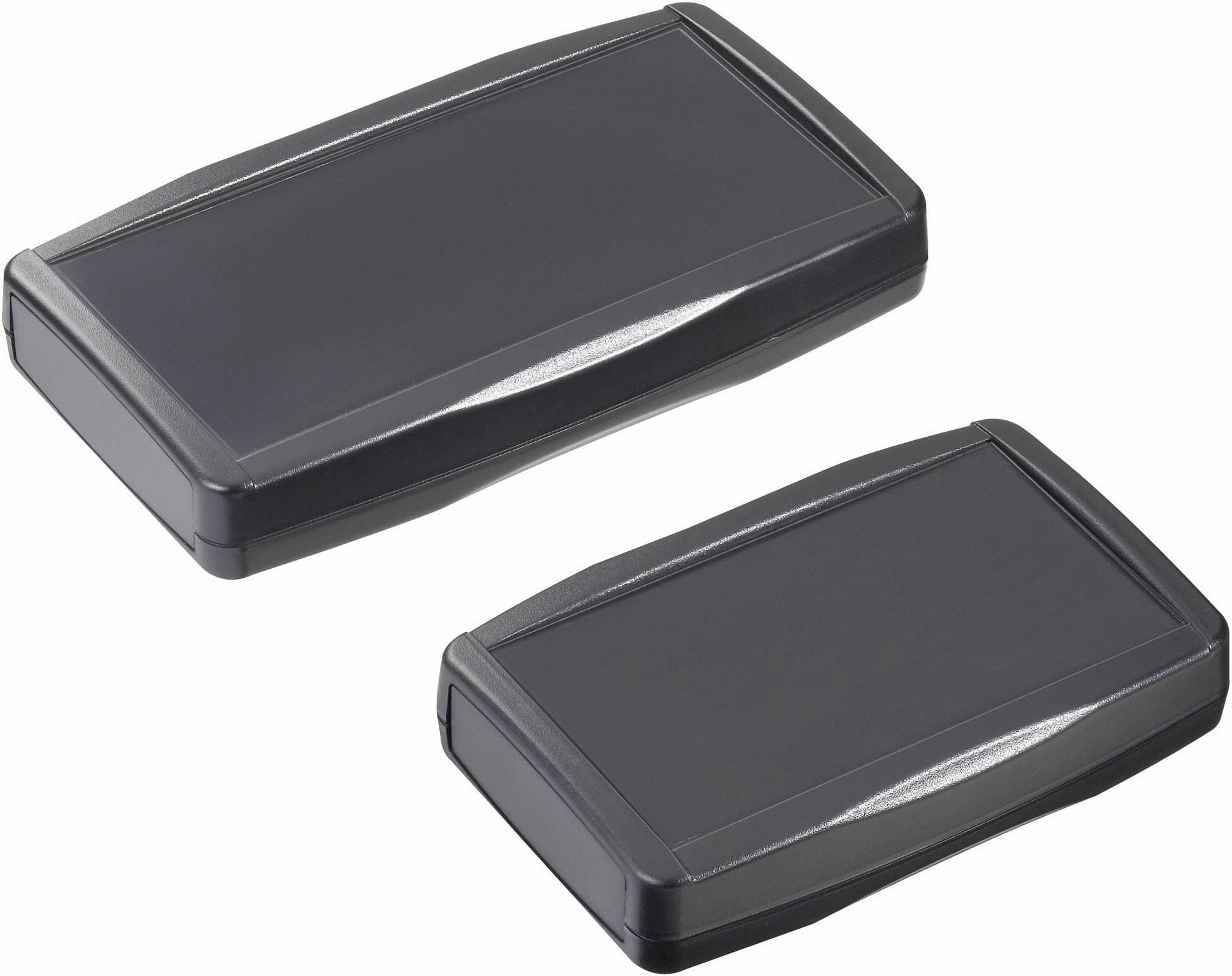 Plastová krabička Pactec XP-9VB, 29 x 140 x 91 mm, ABS, čierna, 1 ks