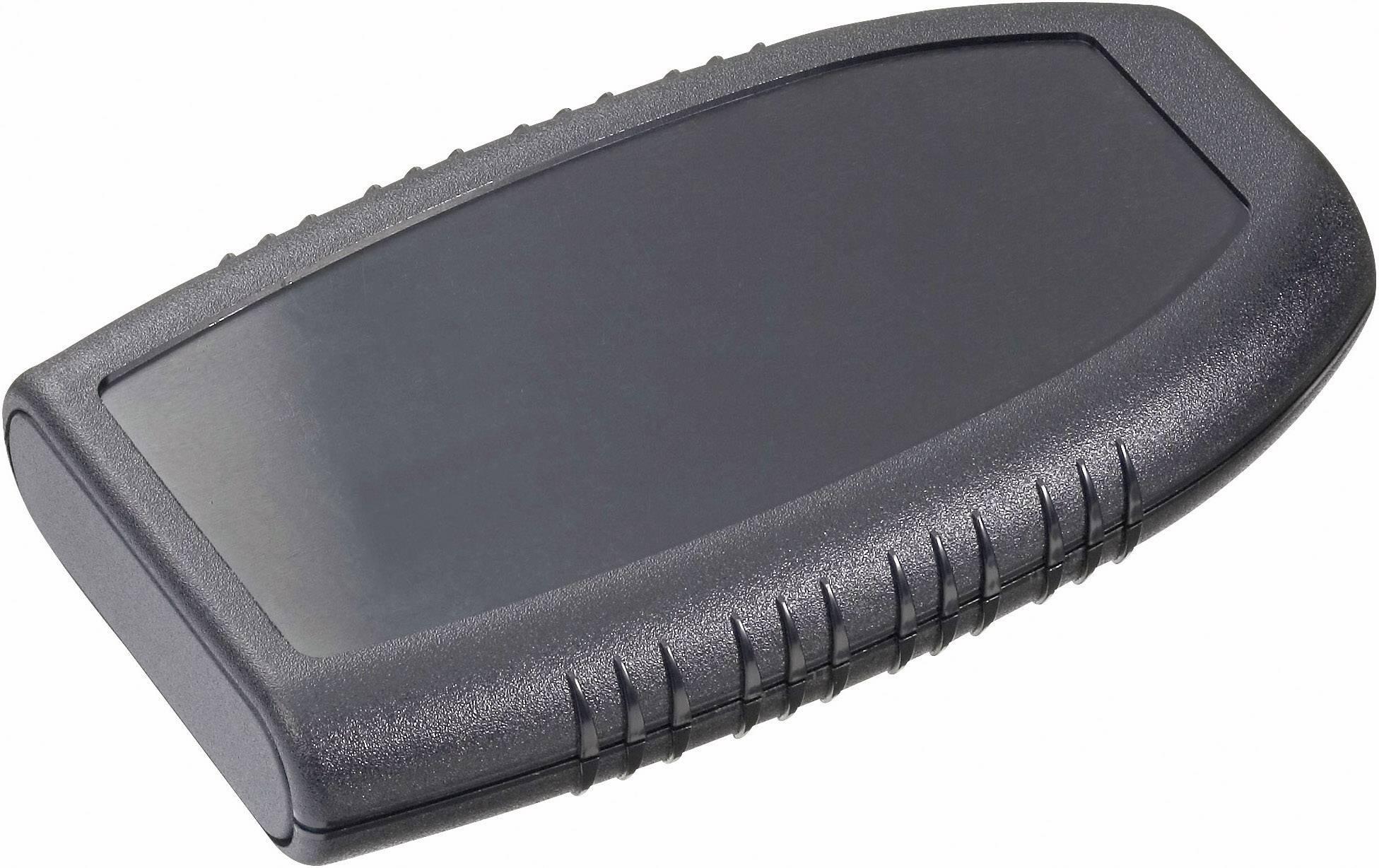 Plastová krabička Pactec HRP-9VB, 25 x 139 x 83 mm, ABS, čierna, 1 ks