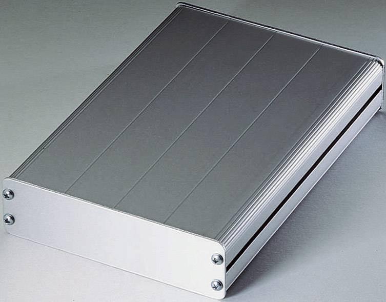 Plochý hliníkový kryt Proma 132010, (d x š x v) 165 x 114 x 32 mm