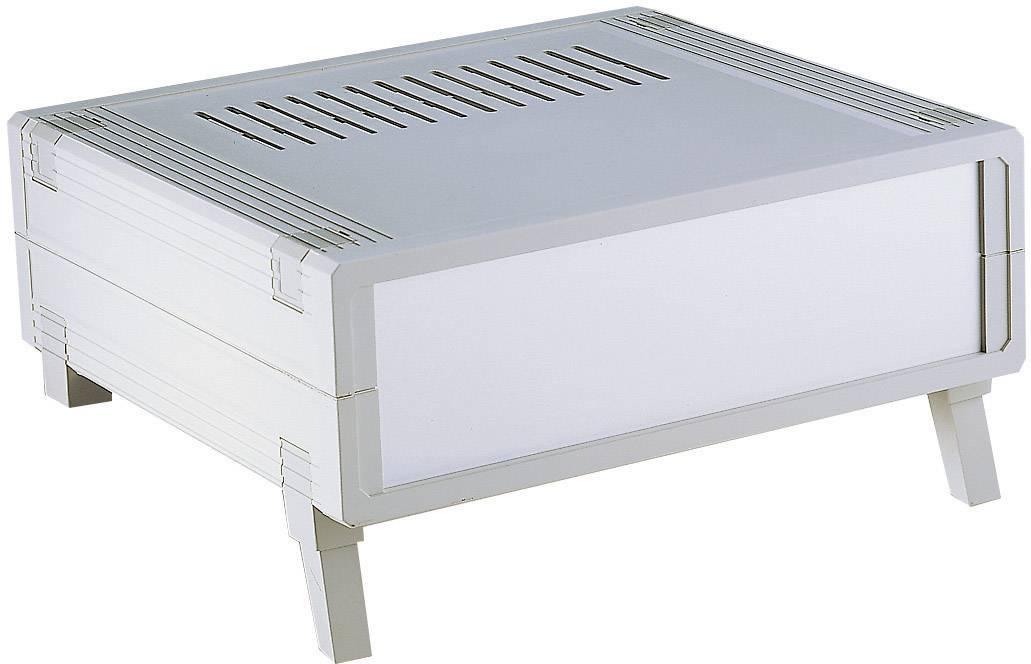 Stolní pouzdro plastové Bopla GEHAEUSE UM 52011 L-50, (š x v x h) 223 x 72 x 199 mm, šedá (U
