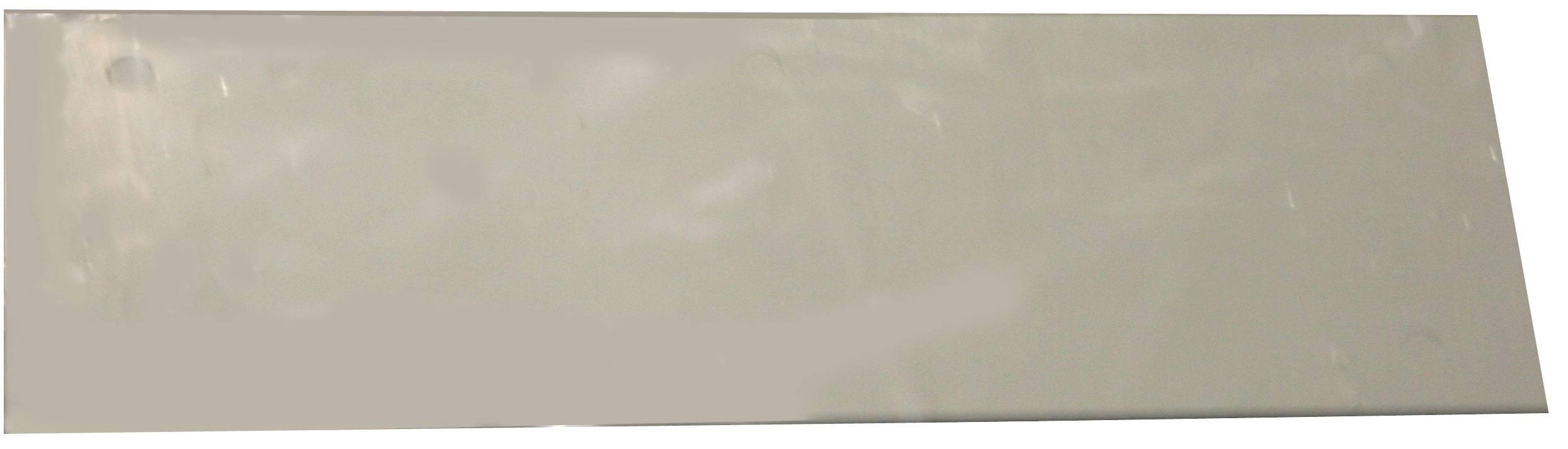 Čelný panel TRU COMPONENTS TC-O.LOCH GR203, 215 mm, umelá hmota, sivá, 1 ks