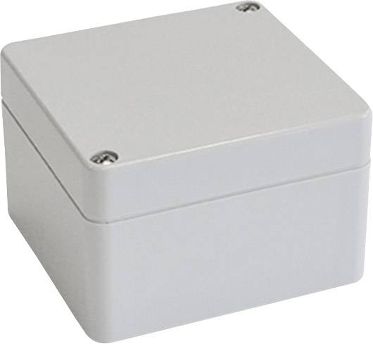 Skříň Euromas Bopla, (d x š x v) 52 x 50 x 35 mm, šedá (T 205)