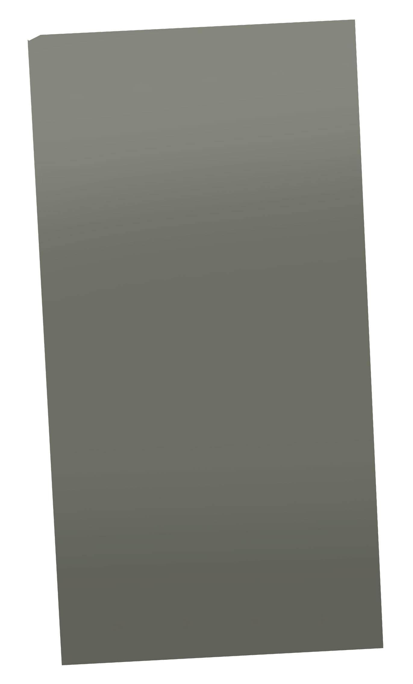 Čelný panel TRU COMPONENTS TC-215 X 111 X 2MM203, 215 mm, umelá hmota, sivá, 1 ks