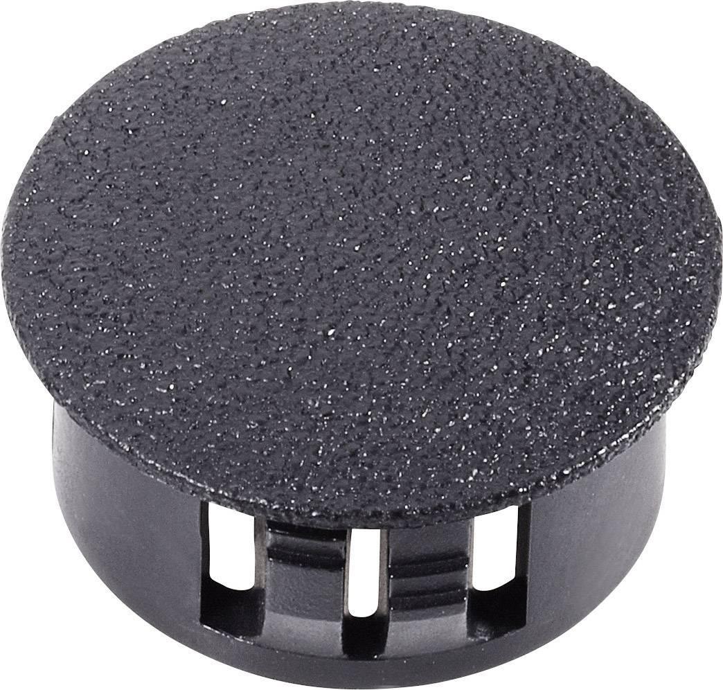 Uzáver / záslepka PB Fastener 76175, čierna, 1 ks