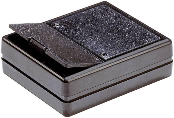 Plastové pouzdro Strapubox, (d x š x v) 80 x 61 x 23 mm, šedá