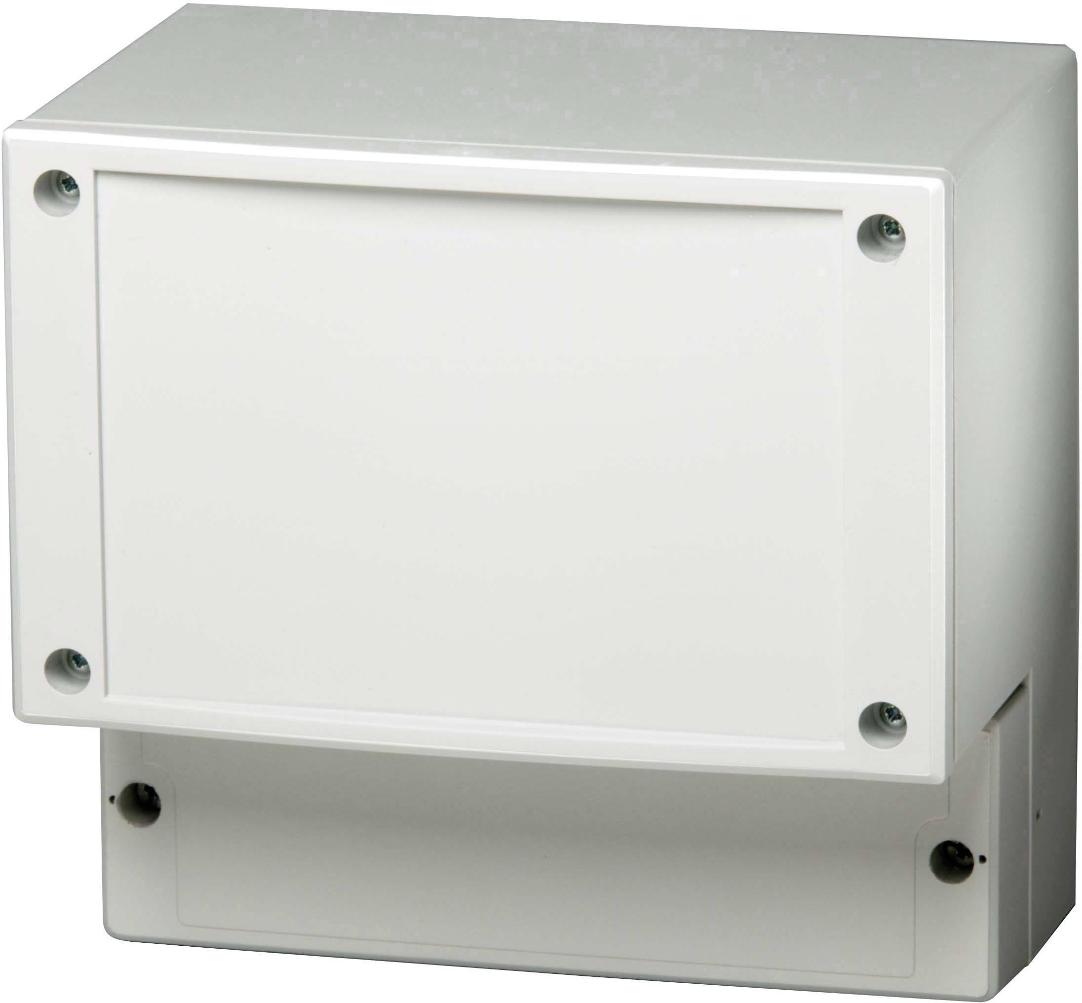 Krabička na regulátor Fibox CARDMASTER PC 17/16-LFC3, (š x v x h) 160 x 166 x 85 mm, polykarbonát, šedá, 1 ks