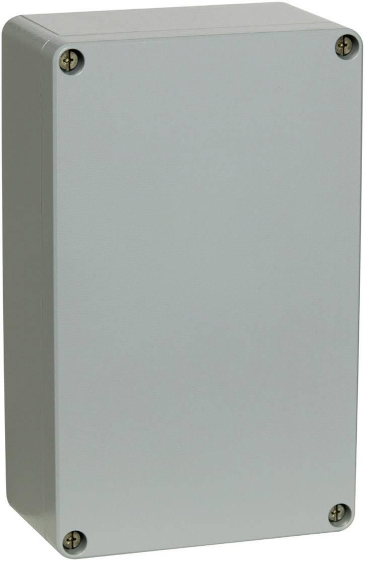 Hliníkové pouzdro Fibox ALN 162609, (š x v x h) 263 x 162 x 90 mm, stříbrná (AL 162609)