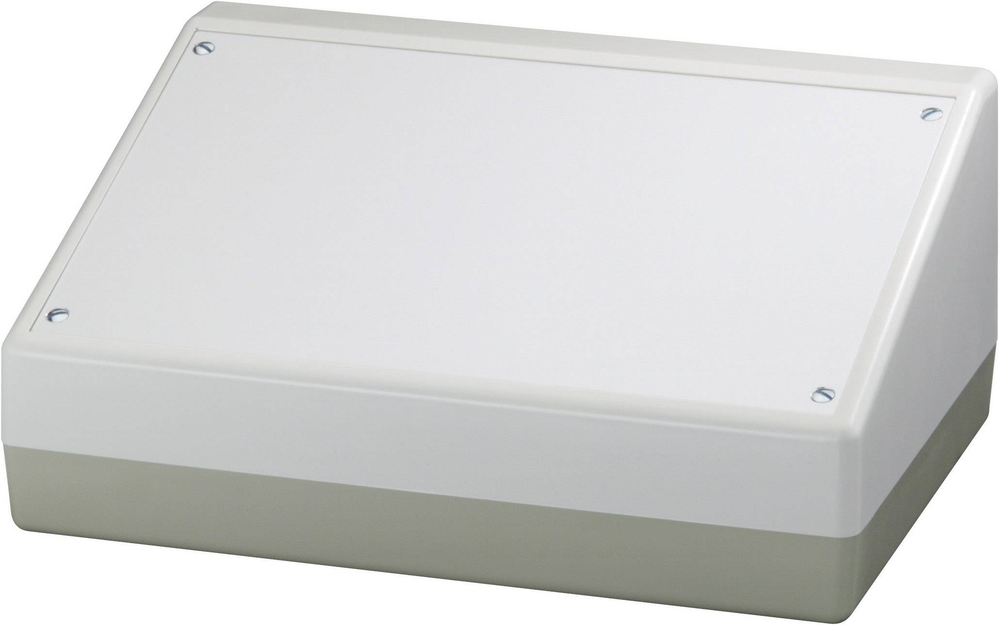 Skrinka na ovládací pult OKW AS054486, 220 x 100 x 156 mm, ABS, hliník, hliník (eloxovaný), 1 ks