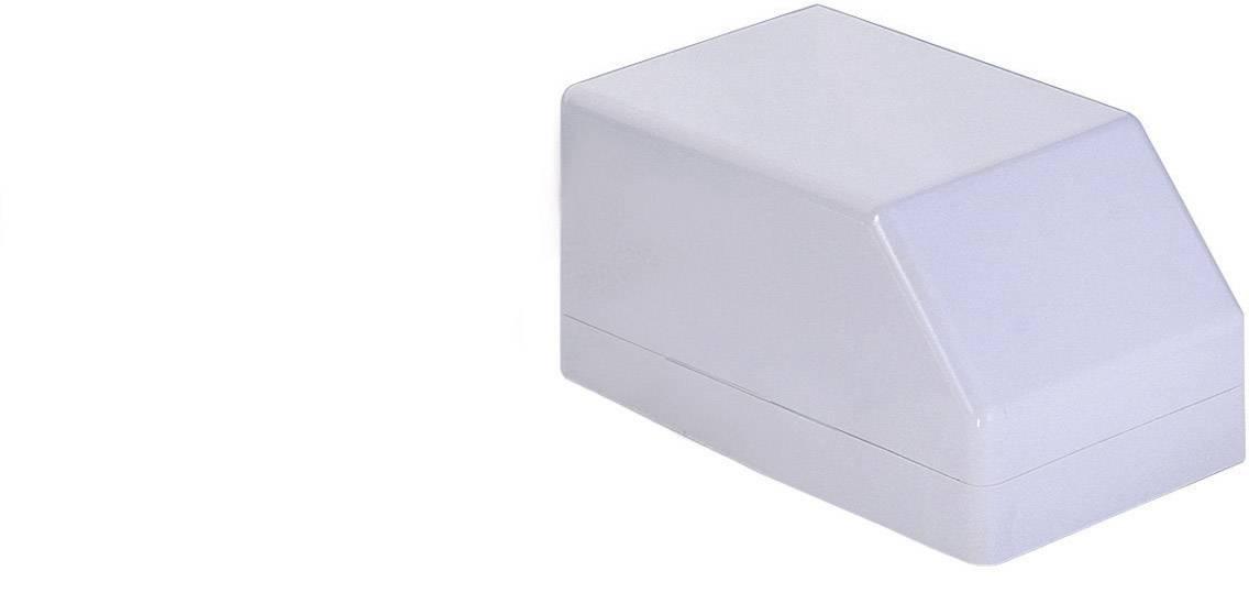 Pultové pouzdro TRU COMPONENTS TC-3023 H 80 GR203, 162 x 100 x 80 , ABS, šedá, 1 ks