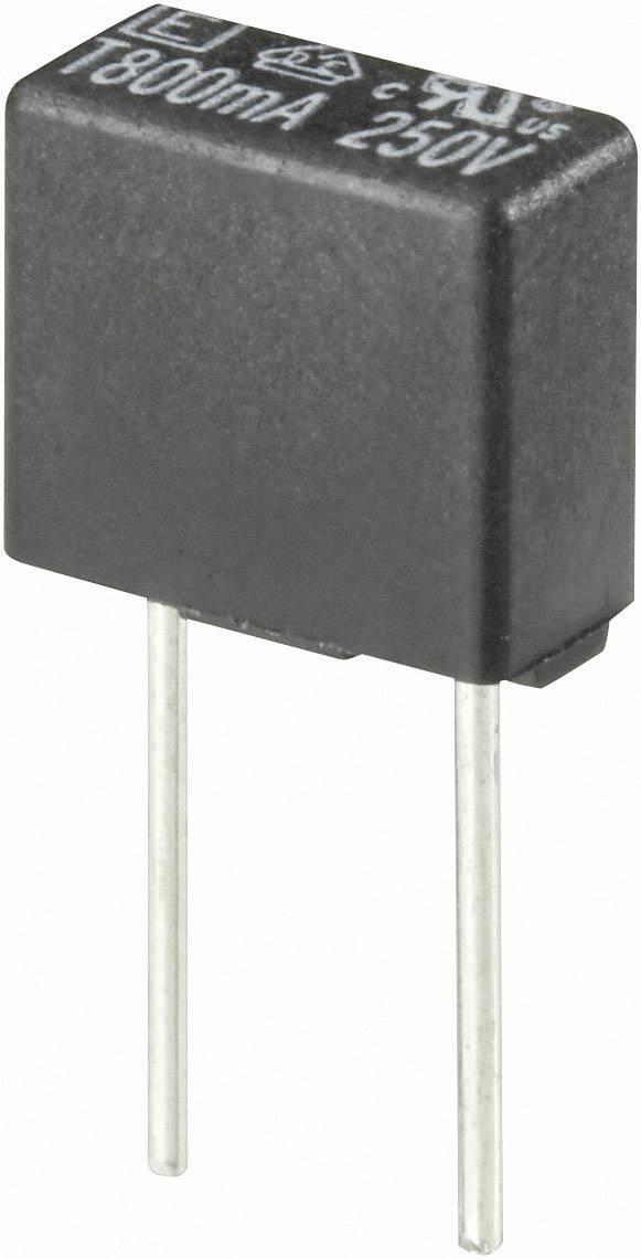 Pomalá miniaturní pojistka, hranatá, 0,125 A, 250 V
