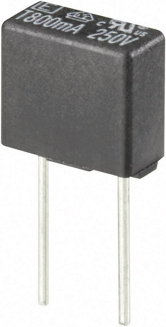 Pomalá miniaturní pojistka, hranatá, 1A, 250 V