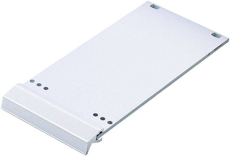 Čelný panel 10132094, hliník, strieborná (matná, eloxovaná), 1 ks