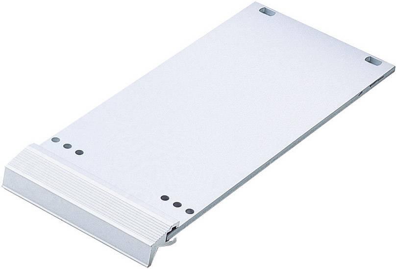 Čelný panel 10132099, hliník, strieborná (matná, eloxovaná), 1 ks
