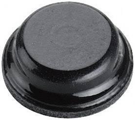 Podstavná nôžka prístrojová 3M SJ 5076, (Ø x v) 8 mm x 2.8 mm, čierna, 1 ks