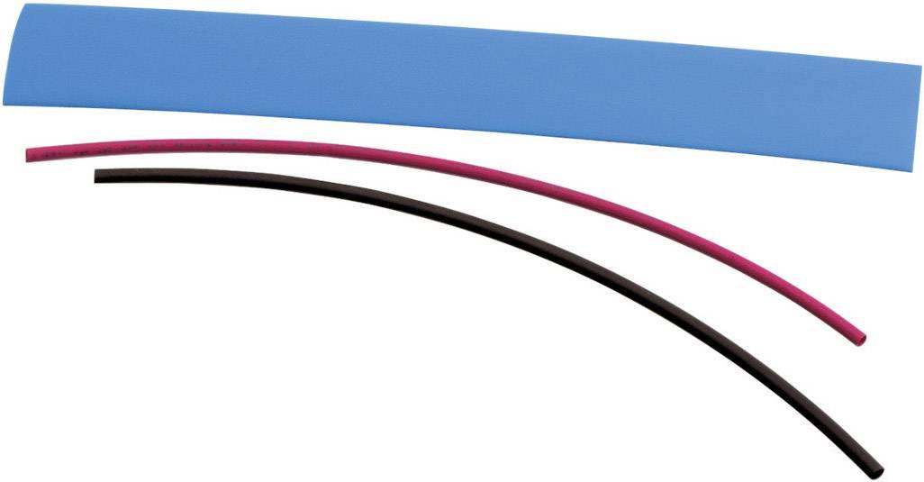 Sada zmršťovacých bužírok DSG Canusa 2810190302CO, 2:1, 9.50 mm /19 mm, červená, 1 sada