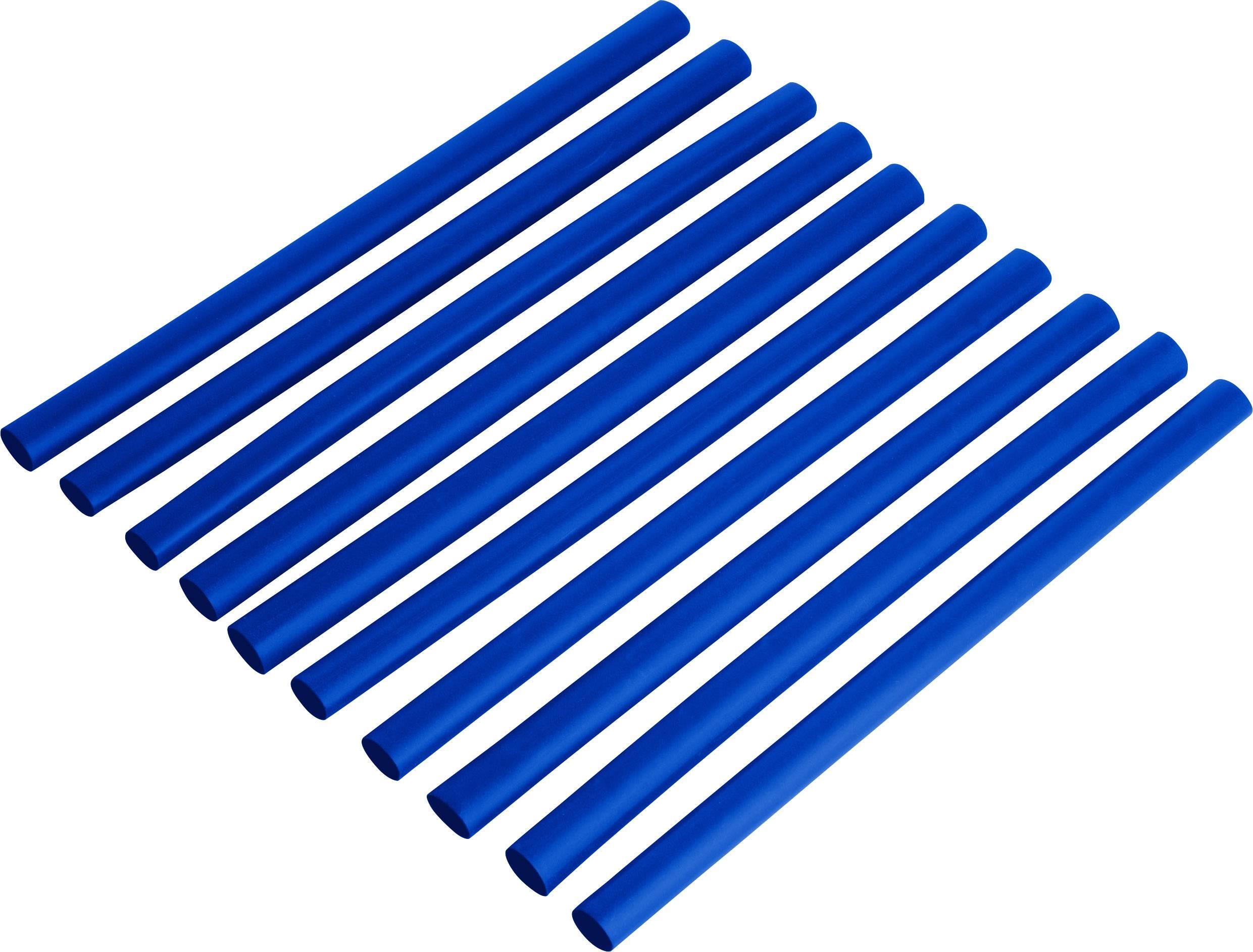 Sada zmršťovacých bužírok DSG Canusa 2810048502CO, 2:1, 2.40 mm /4.80 mm, modrá, 1 sada
