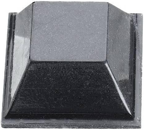 Podstavná nôžka prístrojová 3M SJ 5018, (d x š x v) 12.7 x 12.7 x 5.8 mm, čierna, 1 ks