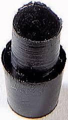 Tlmiaca prístrojová nožička so západkou PB Fastener 1277-01, (Ø x v) 7 mm x 11.5 mm, čierna, 1 ks