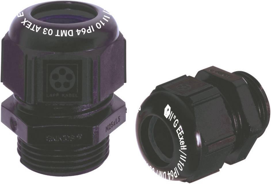 Káblová priechodka LappKabel SKINTOP® K-M EEXE II ATEX, polyamid, čierna (RAL 9005), 1 ks