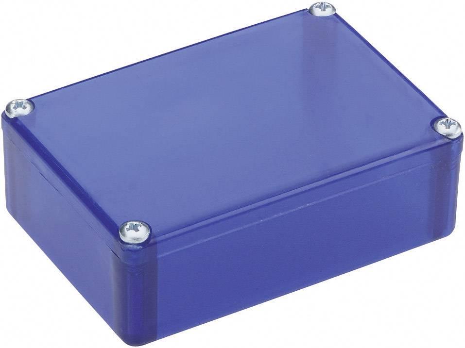 Univerzálne púzdro Strapubox 2024BL 2024BL, 72 x 50 x 26 , ABS, modrá (transparentná), 1 ks