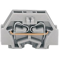 Samostatná svorka WAGO 260-301, osadenie: L, pružinová svorka, 5 mm, sivá, 1 ks