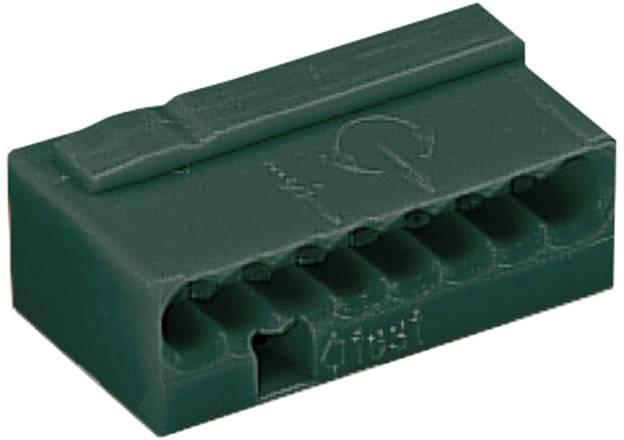 Krabicová svorka WAGO na kábel s rozmerom 0.6- , pólů 8, 1 ks, tmavosivá