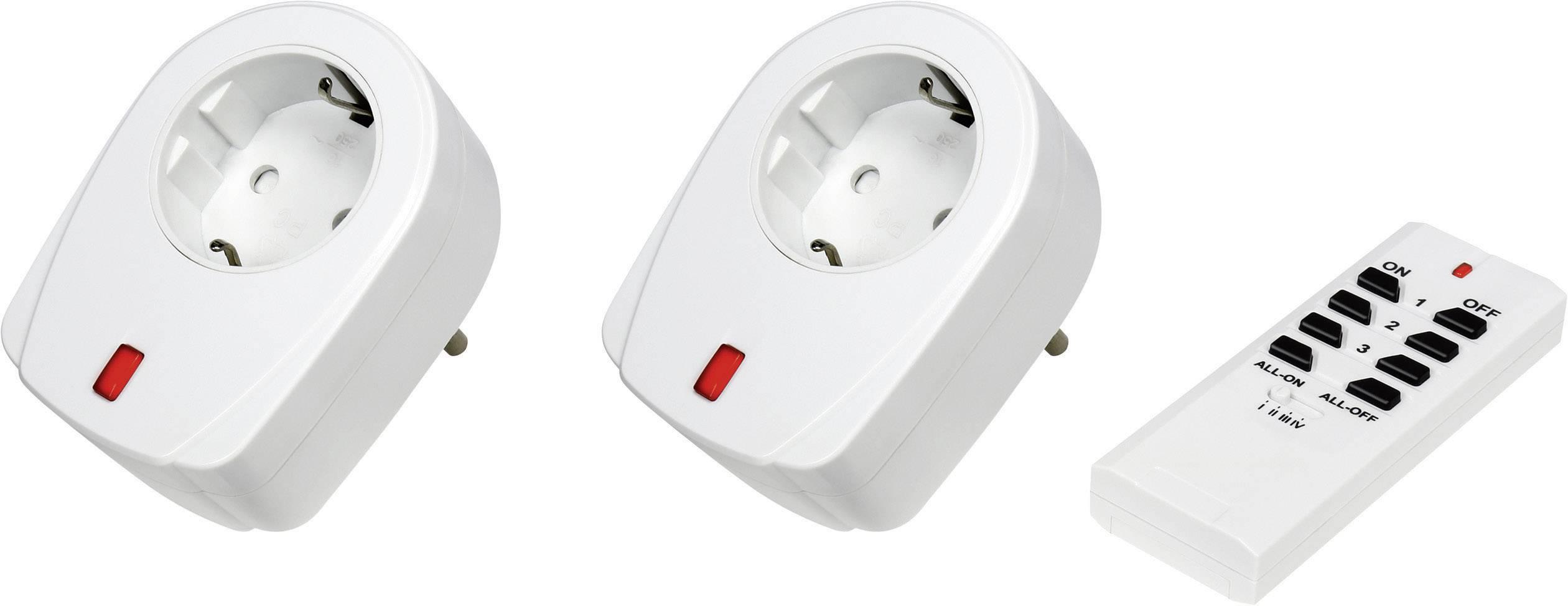 RSL sada bezdrôtových spínačov prepojovací konektor spínací výkon (max.) 2000 W max. dosah 30 m