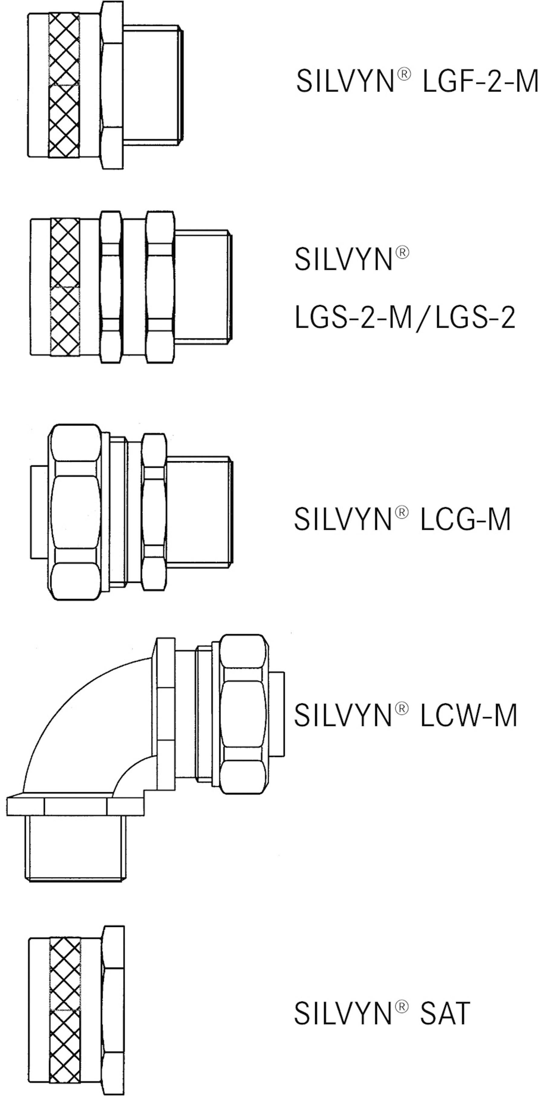 LappKabel SILVYN® LCC-2 /12 61804712, 10.20 mm, čierna, metrový tovar