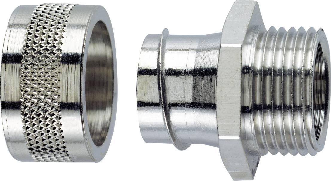 Hadicová spojka rovná LappKabel SILVYN® LGF-2-M 20X1.5/2 55502022, M20, 16.90 mm, strieborná, 1 ks