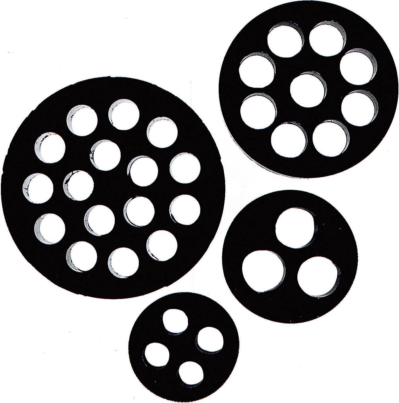 Těsnicí vložka M20 LappKabel DIX-M20 (53320353), IP54, M20, nitril kaučuk, černá