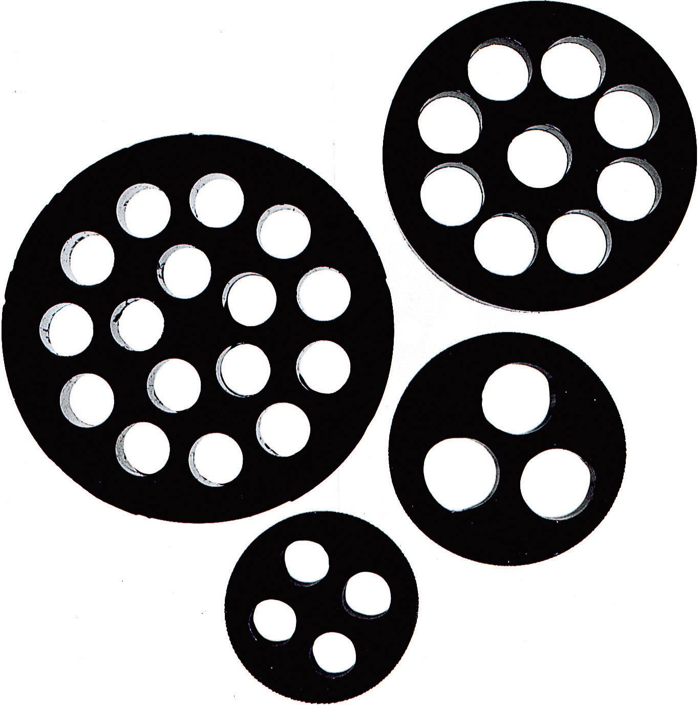 Tesniaca vložka s viacerými priechodmi LappKabel SKINTOP® DIX-M25, M25, nitril kaučuk, 1 ks