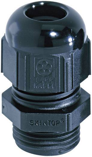 Káblová priechodka LappKabel SKINTOP® ST-M16 x 1.5, polyamid, čierna (RAL 9005), 1 ks