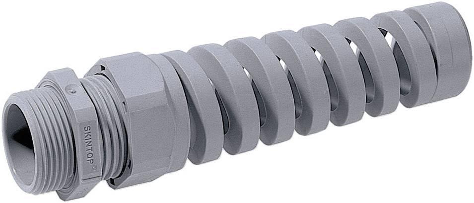 Káblová priechodka LappKabel SKINTOP® BS-M 16 x 1.5, polyamid, striebrosivá (RAL 7001), 1 ks