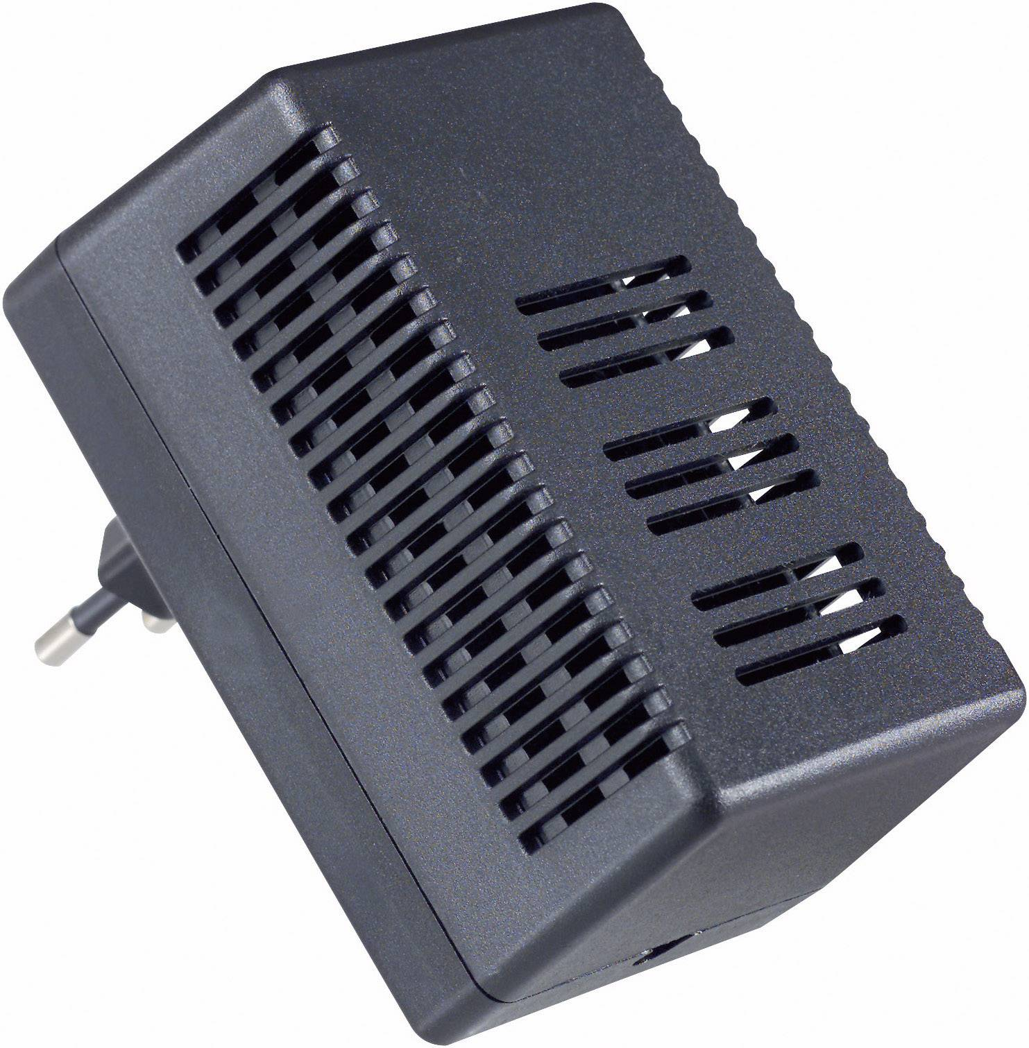 Pouzdro zástrčky TRU COMPONENTS TC-SG 951 SW203, ABS, 95 x 63 x 49 , černá, 1 ks